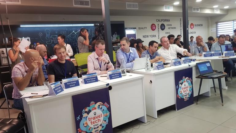 Kryptonvc Proud to judge @ EilatHub TravelTech Startups Event